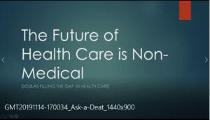 The Future of Non Medical health care
