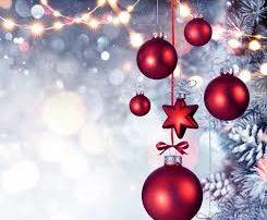 christmas red bulb